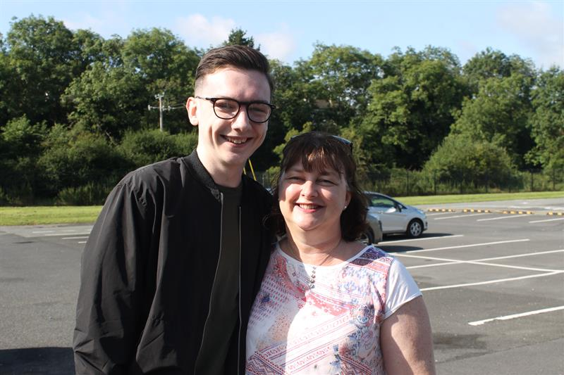 Ben McCormack with his mother Grainne.JPG