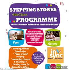 Leixlip Youth Project- Stepping Stones support programme