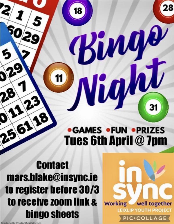 1st Year Online Bingo